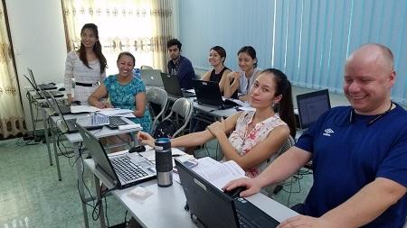 Lớp học Tin học văn phòng cho Tổ chức phi chính phủ